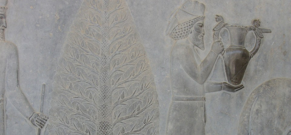 Relief Panel at Persepolis, Iran