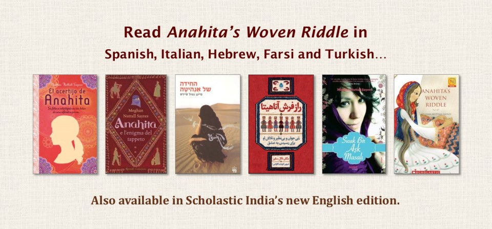Translations and Editions of Anahita's Woven Riddle